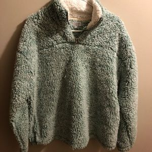 Tops - Sherpa pullover!